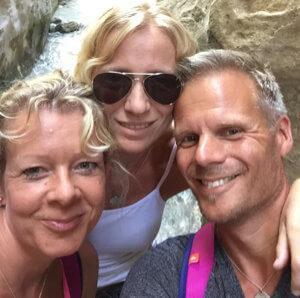 Saskia, René & Petra